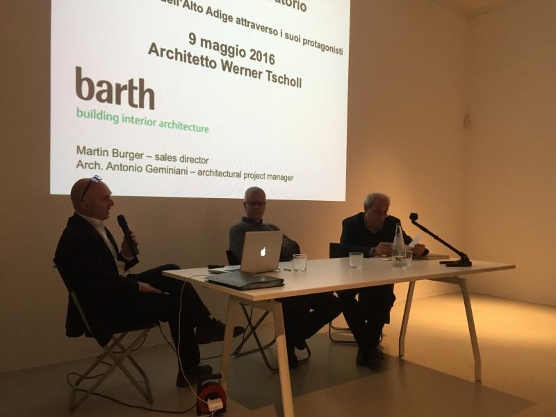 Werner Tscholl  con Marco Mulazzani (1/3)
