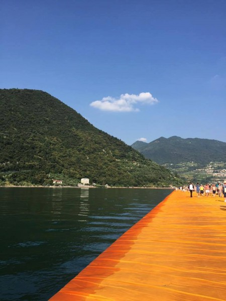 The Floating Piers by Christo Jeanne-Claude -  Sulzano (BS)