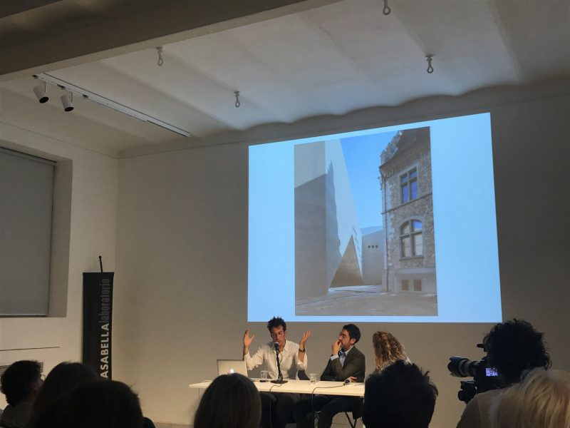 6 giugno - «Città e Musei» Emanuel Christ (Christ & Gantenbein) + Francesca Kaufmann (Galleria Kaufmann Repetto) 2/4