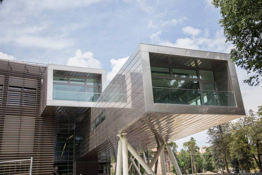 20 maggio - Visite guidate dai progettisti 2/5 - Lamberto Rossi Associati - Teaching Hub-Campus Università di Bologna sede Forlì
