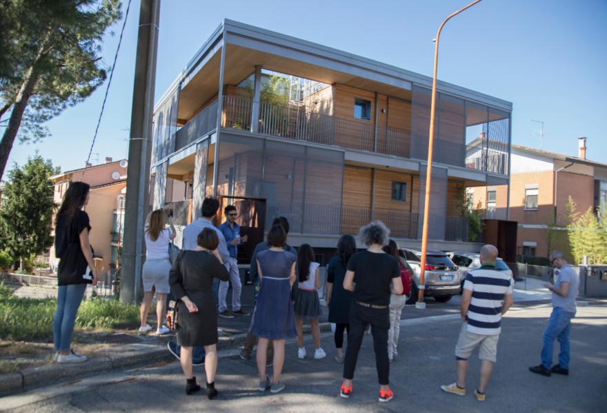 27 maggio - Visite guidate dai progettisti 5/5 - Studio Piraccini - Fiorita Passive House
