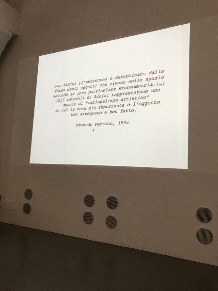 22 settembre Torino -  «Franco Albini» lezione di Federico Bucci 4/5