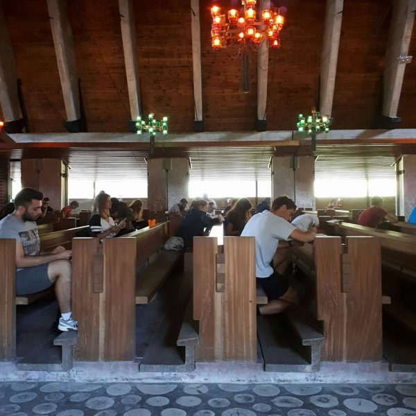 laboratorio. chiesa di Nostra Signora del Cadore - Edoardo Gellner e Carlo Scarpa