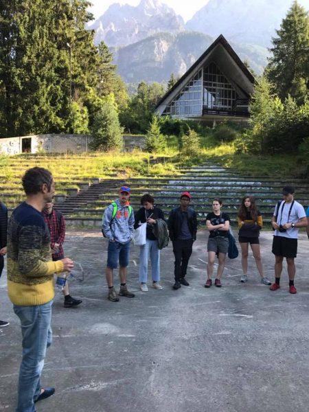 visita guidata con Gianluca D'Incà Levis -Dolomiti Contemporanee-
