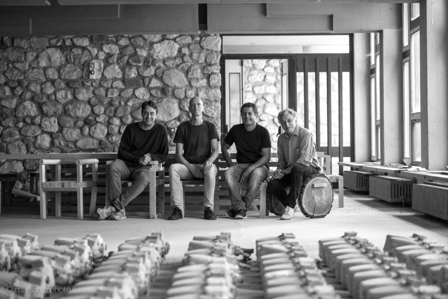 da sinistra: Edoardo Narne, Simone Sfriso, Germán López Mena, Gabriele Cappellato - foto: ©Mattia Rizzi