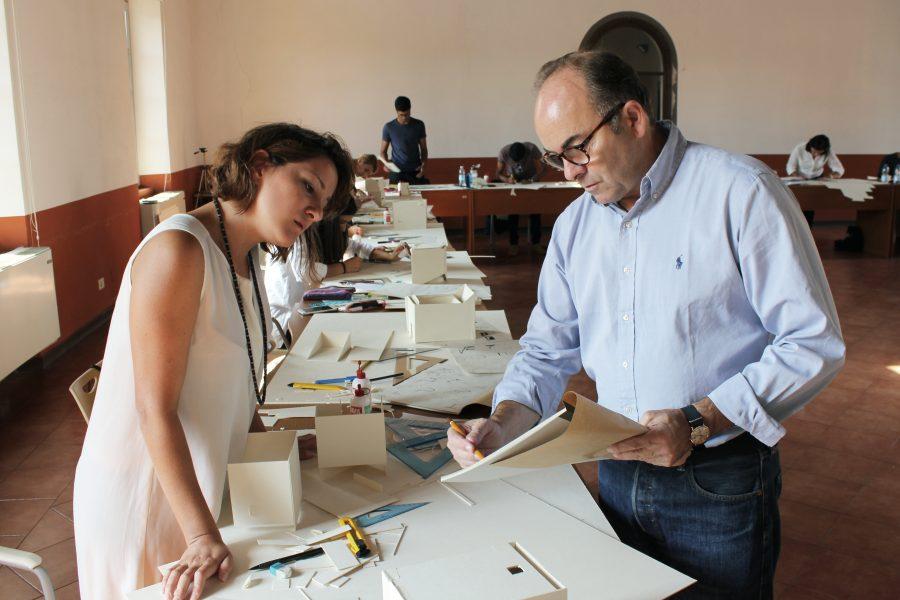 workshop in aula con Jesús Leache