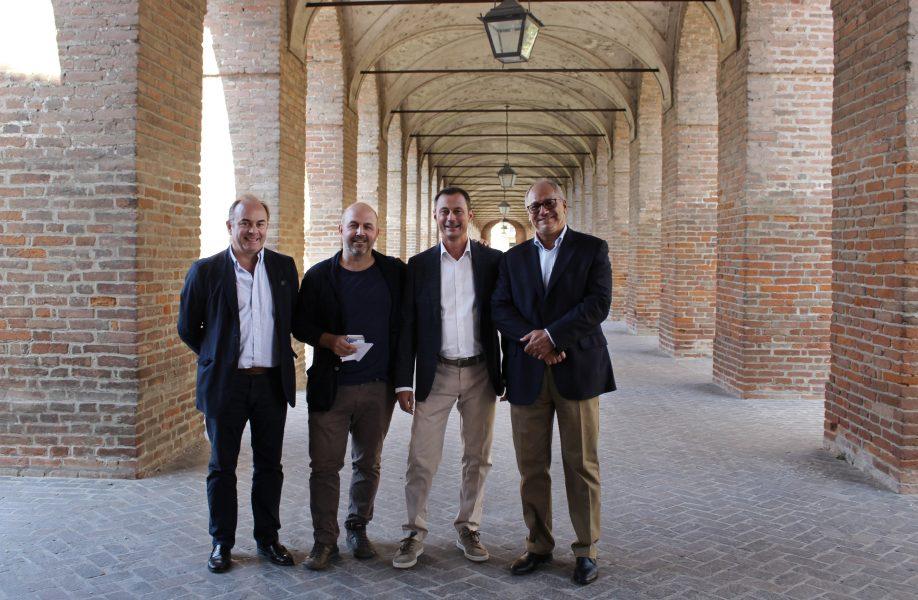 da sinistra: Jesús Leache, Roberto Bosi, Fabio Capanni e Federico Bucci