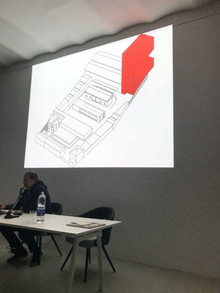 24 ottobre CASABELLAlaboratorio Milano - «Fondazione Prada-Milano» con Federico Pompignoli -OMA- 2/2