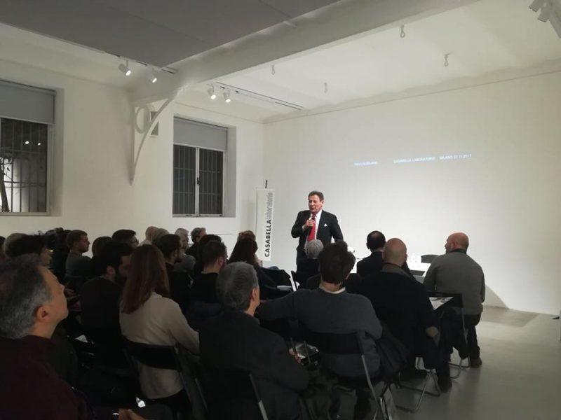 27 novembre 2017 CASABELLAlaboratorio Milano «Nieto Sobejano» con Enrique Sobejano 1/3