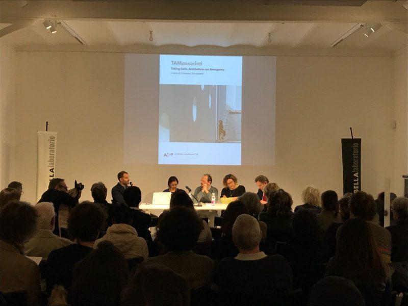 6 novembre CASABELLAlaboratorio Milano - presentazione libro «TAMassociati. Taking Care. Architetture con Emergency» con Raul Pantaleo -TAMassociati-