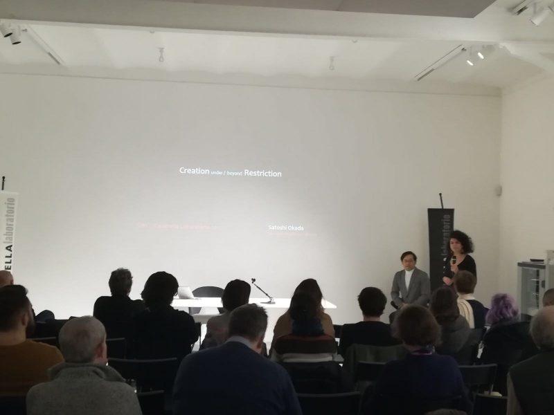 22 novembre CASABELLAlaboratorio Milano «Creation under/beyond restriction» lezione di Satoshi Okada