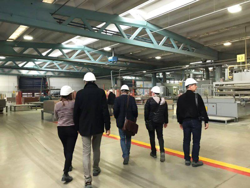 9 novembre Sassuolo (Mo) - visita alla sede e alla produzione di Marazzi Group S.r.l.