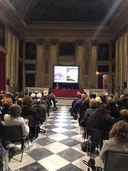 13 marzo 2018 - lezione di Giovanni Leoni  «Mies van der Rohe» (1/5) - in collaborazione con Cersaie - Palazzo Ducale, Sala Minor Consiglio - piazza G. Matteotti, 9 - Genova