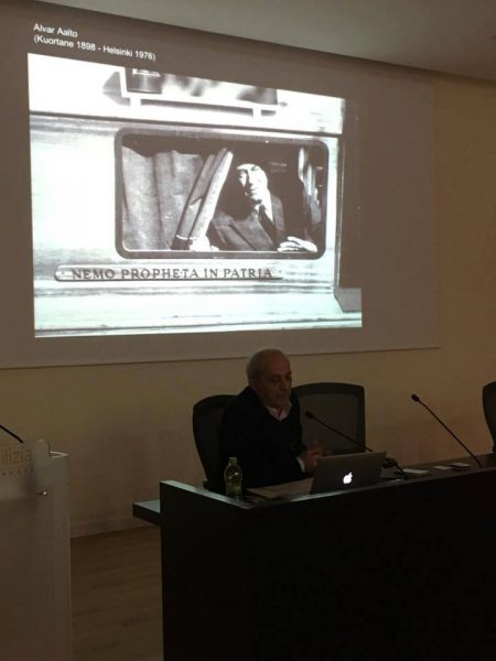 23 marzo 2018 - lezione di Marco Mulazzani «Alvar Aalto» (2/5) - Centro Edile per la Sicurezza e la Formazione, Perugia