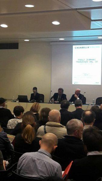 28 marzo 2018 - «Restauro e Conservazione» con Paolo Zermani e Francesco Dal Co - Sala Conferenze, Museo MAMbo - Bologna (1/4)