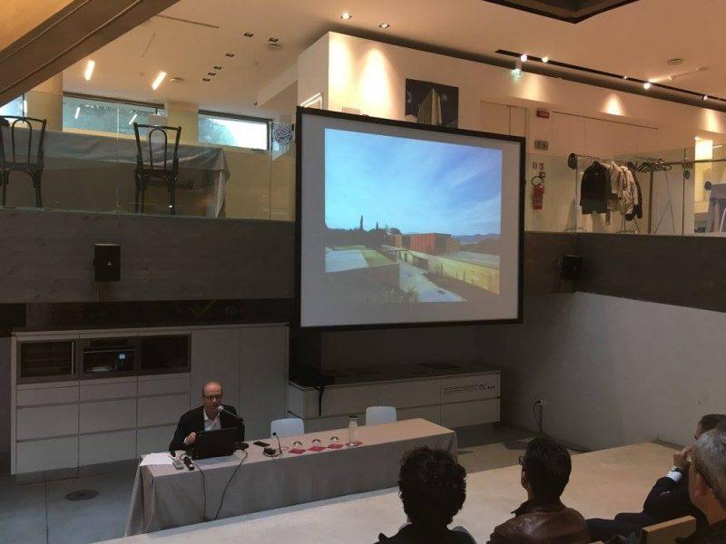 11 aprile 2018 - «Opere» con Fabrizio Rossi Prodi - Auditorium Ecoarea - Cerasolo, Rimini (2/4)