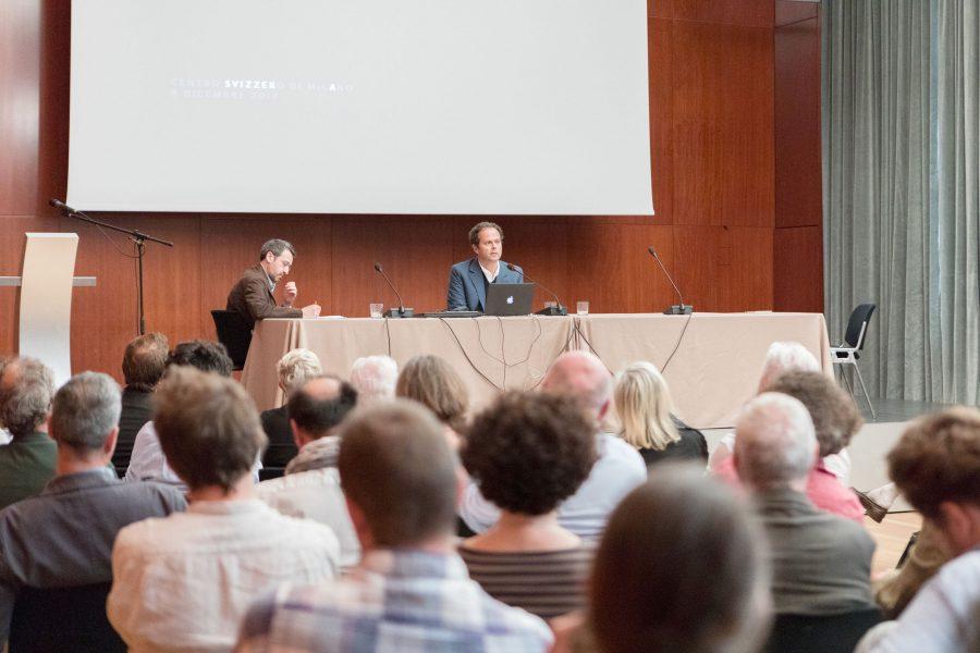 8 maggio 2018 - con Philippe Rahm + Nicola Braghieri «Le virtù materiali. Espressione e sostanza» - Centro Svizzero, Sala Meili - Milano (1/4)