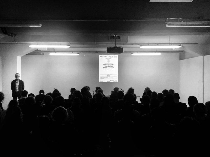 16 ottobre 2018 - con Parisotto+Formenton Architetti - CASABELLAlaboratorio - via Vigevano, 8 - Milano (3/3)