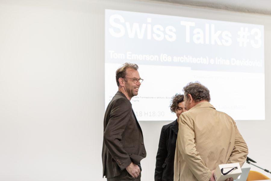 22 ottobre 2018 - Tom Emerson (6a architects) + Irina Davidovici «Crossovers. La lingua del contemporaneo» - CASABELLA laboratorio via Vigevano, 8 – Milano (3/4)