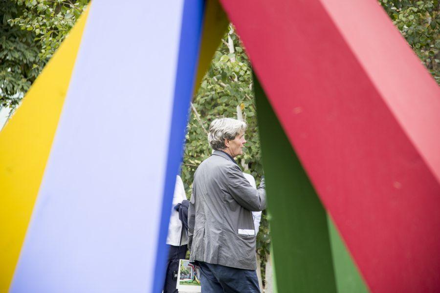 17 Ottobre 2018 - La Biennale di Venezia sede dei Giardini con Christian Sumi (Burkhalter Sumi Architekten) e Marko Pogačnik (Iuav)
