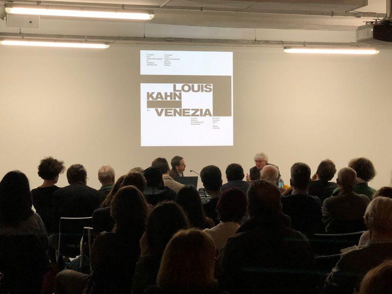 29 ottobre 2018 - Casabella 890 ottobre: «Kahn a Venezia» - CASABELLAlaboratorio-via Vigevano 8 - Milano con Mario Botta, Riccardo Blumer, Francesco Dal Co
