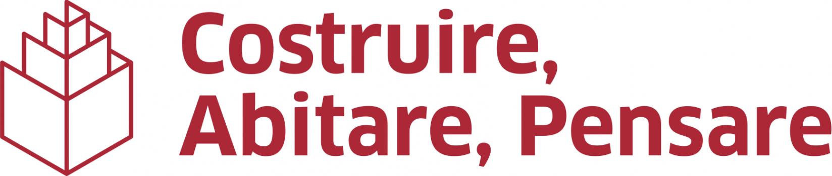 costruire abitare pensare nuovo logo