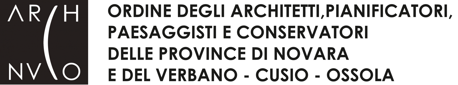 ordine architetti novara logo