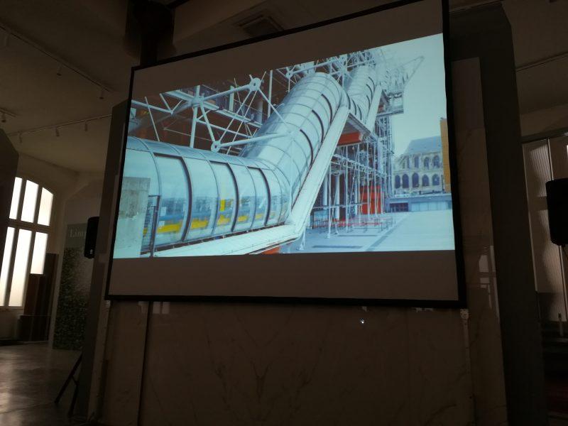 Rassegna Cinematografica - CINEMA E ARCHITETTURA «Il Centre Pompidou»,  regia di Karim Ainouz – Showroom Lualdi Casalgrande Padana, Foro Buonaparte, 74 – Milano