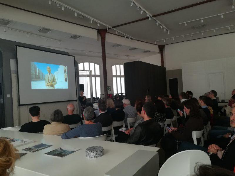 Proiezione di «Il Salk Institute», Showroom Lualdi Casalgrande Padana – Foro Buonaparte, 74 – Milano