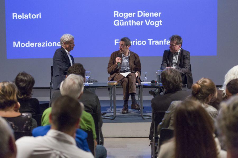 18 ottobre 2019 - con Roger Diener e Günther Vogt «Le città nell'età del turismo I. Alla ricerca della sostenibilità culturale, città museo o città di musei?» - Istituto Svizzero, Roma (3/4) - © Davide Palmieri