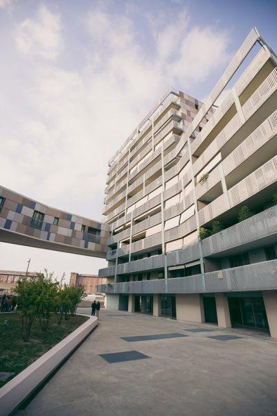 Visita in anteprima | Cino Zucchi Architetti – Residenza Darsena lotto 4 | 11 Ottobre 2019 | © Adrian Lungu
