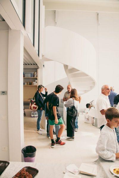Visite guidate dai progettisti | Itinerario 5: Ampliamento edificio produttivo, Studio Frontali – Casa Privata, Montini Architettura – Abitazione Majorana, ABA – Halnet Srl, Montini Architettura | 13 ottobre 2019 | © Adrian Lungu