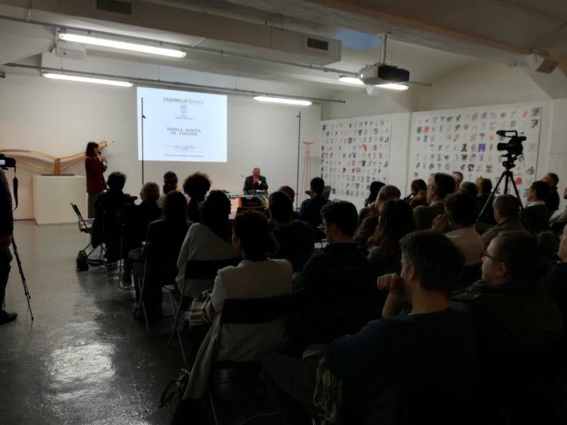 Ángela García De Paredes | presentazione di Federico Bucci | lezioni di CASABELLAlaboratorio | 14 ottobre 2019 | © Giuliana Santoro