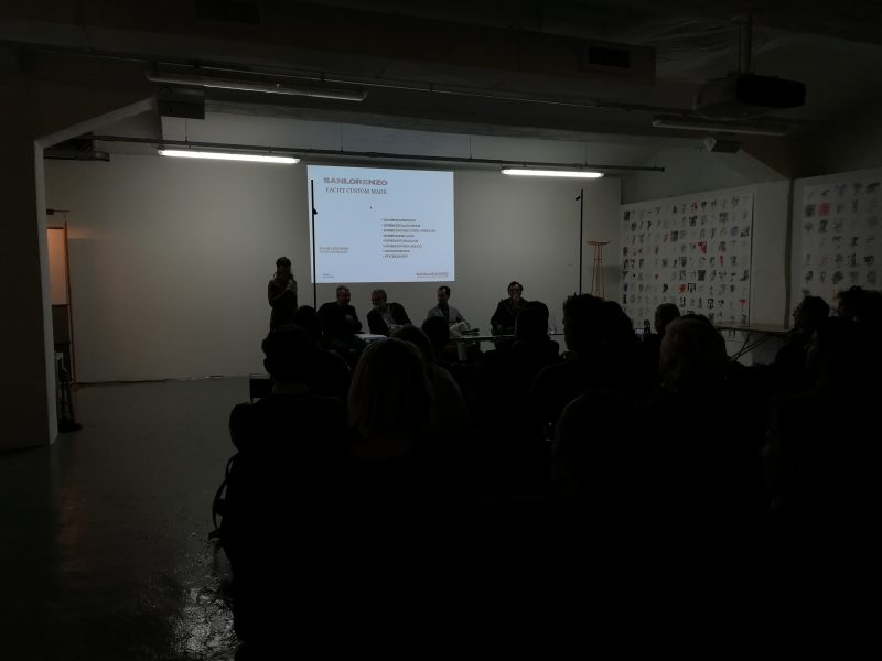 Lissoni Associati | Miguel Casal Ribeiro e Sergio Buttiglieri, mod. Antonio Vettese | Architetti tra le onde 1/2 | 21 ottobre 2019 | © Giuliana Santoro