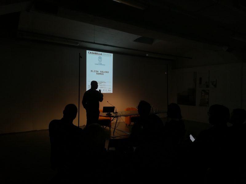 Elisa Valero Ramos | presentazione di Federico Bucci | lezioni di CASABELLAlaboratorio | 18 novembre 2019 | © Giuliana Santoro