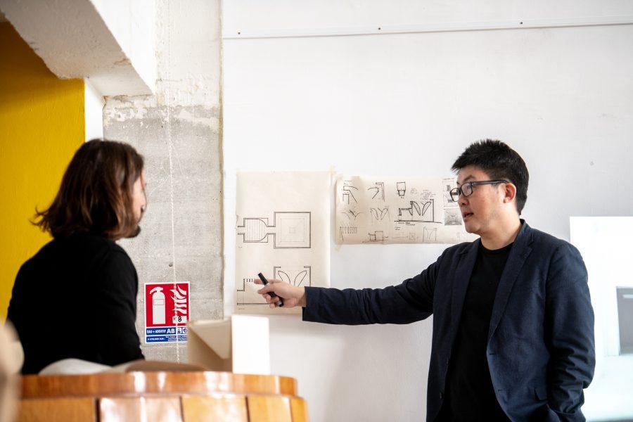 relatori e guide: Fabio Capanni, Mauro Galantino, Dong Gong (Vector Architects) e Marco Soravia (Velux) | tutor: Roberto Bosi | Unité d'Habitation, Marseille | © Mattia Rizzi