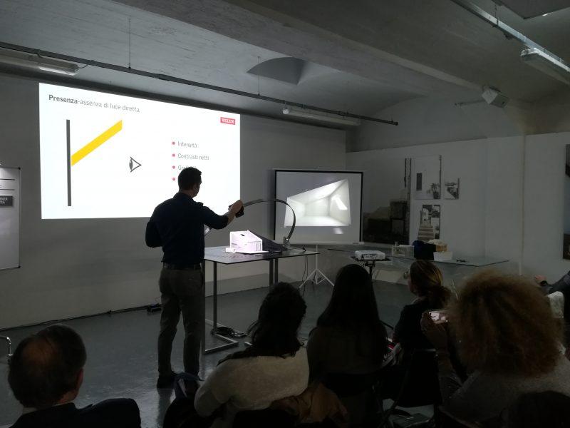 lezione «Il Sole in Architettura. Come impostare il progetto della luce naturale» | Velux | CASABELLAlaboratorio, Milano | © Giuliana Santoro