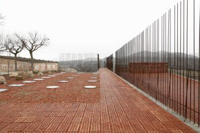 SPA_Seró_Estudi d'arquitectura Toni Gironès_Espacio Transmisor Del Túmulo © Aitor Estevez
